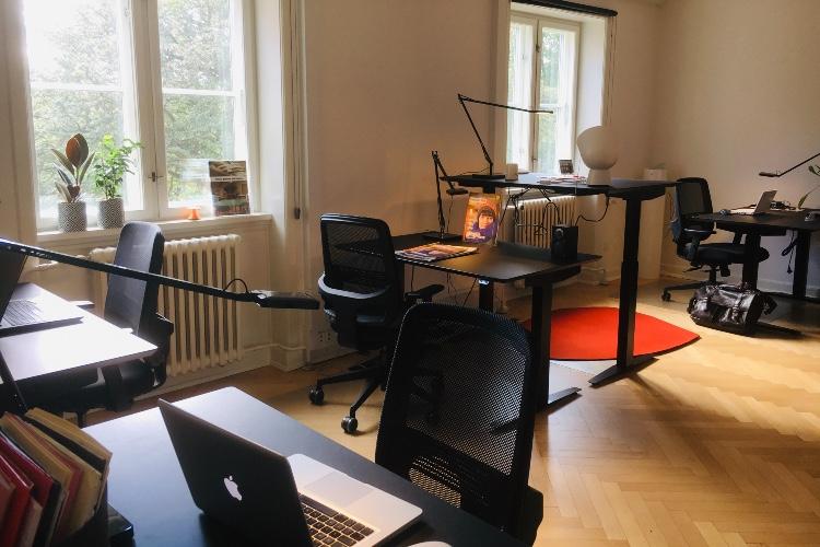 Stort lys kontor ledigt hos Kontoruniverset