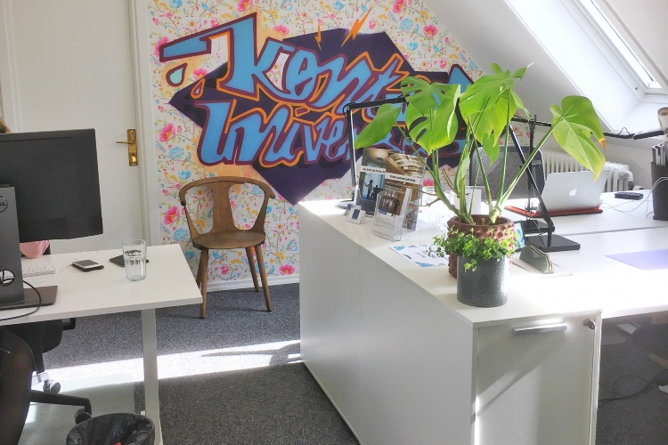 Egen kontor eller et skrivebord sammen med to andre